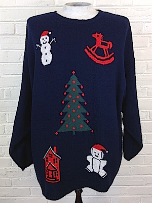 Mens 3xl 4xl Ugly Xmas Sweater Soft N Fuzzy Xmas Stuff In An
