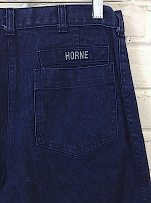 Vintage Navy bell bottom jeans. Various Sizes click to see all ...