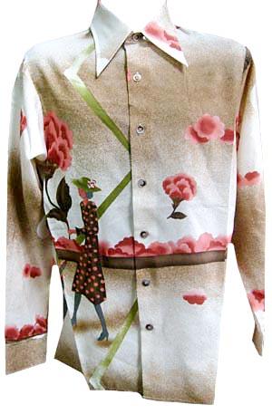 vintage disco shirt