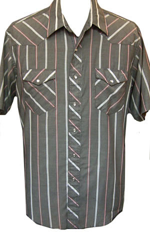 Mens short sleeve western